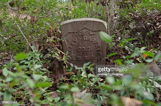 A grave of a former slave who was freed during the Civil War and joined the Union army lies along the the bank of the Combahee River in rural...