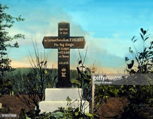 Grave of an army chaplain Germany