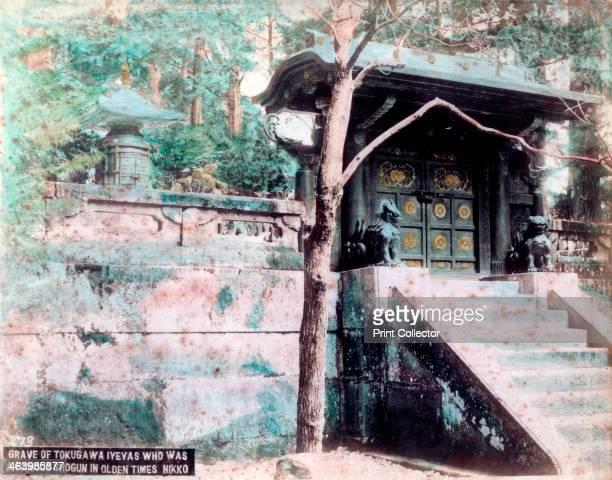 Grave of Tokugawa Ieyasu a famous shogun Nikko Japan Tokugawa Ieyasu was the founder and first shogun of the Tokugawa shogunate of Japan which ruled...