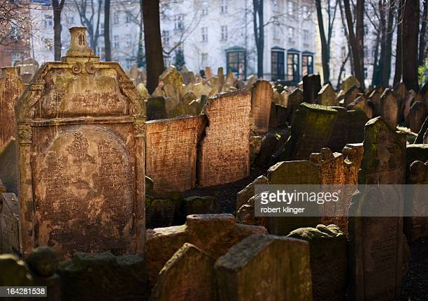 CONTENT] Grave Stones on the old jewish cemetery in Prague