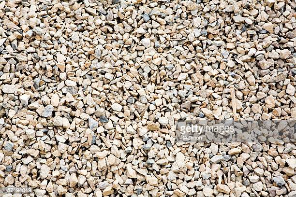 Gravel floor close up background