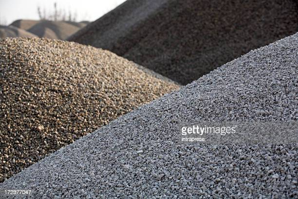 gravel hills - gravel stock pictures, royalty-free photos & images
