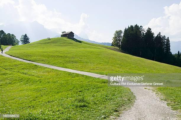 gravel path in park - stefanie grewel stock-fotos und bilder