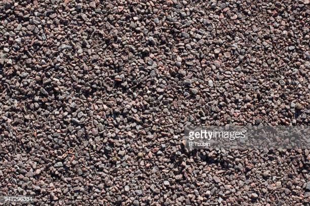 gravel, pebbles and sand closeup seamless background - pebble stock photos and pictures