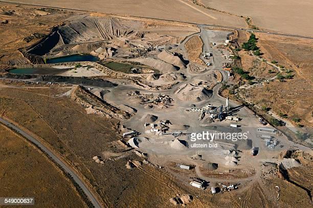 Gravel pit .