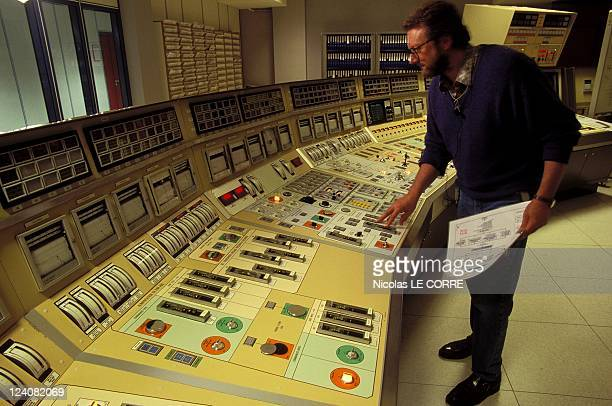 Gravelines Nuclear Plant In Gravelines France On May 03 1996 The reactor's control room