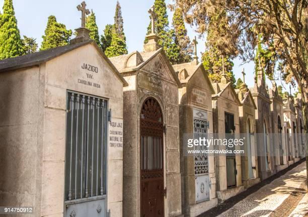 Graves at Cemiterio dos Prazeres