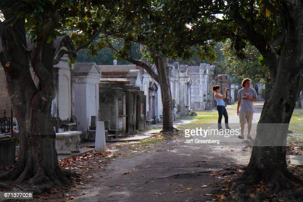 Graves at historic Lafayette Cemetery Number 1