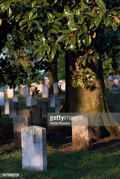 atlanta, oakland cemetery, georgia, usa - mausoleum stock-fotos und bilder