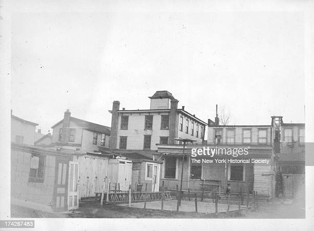 east side of W 3th Street just north of the Brighton Beach Rail Road L structure Coney Island New York New York 1923