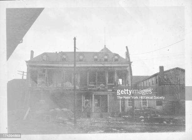 police station east side of W 8th Street just north of the Brighton Beach Rail Road L structure Coney Island New York New York 1923
