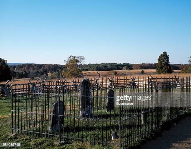 Gravesite of Judith Henry killed by Yankee shells at First Battle of Bull Run
