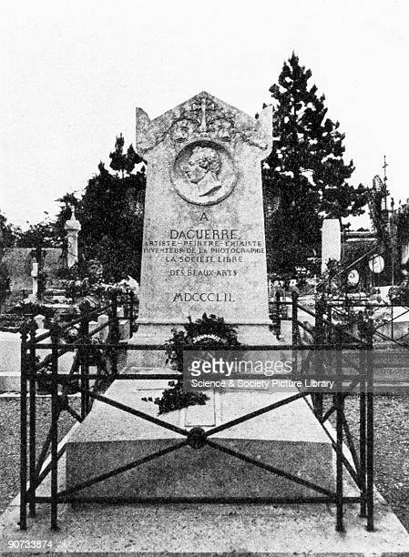 Gravestone in BrysurMarne of Louis Jacques Mande Daguerre Daguerre collaborated on his original photography research with Joseph Niepce The...