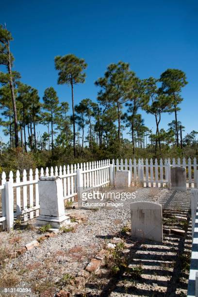 Gravestones from the Chasefield Plantation at Fort Pickens Pensacola USA They were originally on land that is now the Naval Air Station