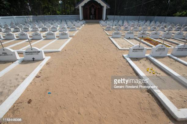 graveyard belonging to st augustine's roman catholic church, india - religious event stock pictures, royalty-free photos & images