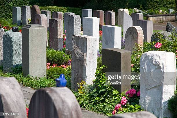 graveyard - tombstone stock pictures, royalty-free photos & images