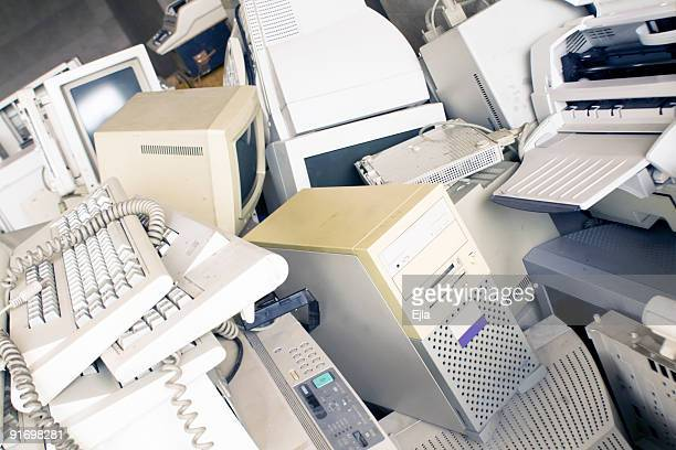 pc graveyard - it is finished stock pictures, royalty-free photos & images