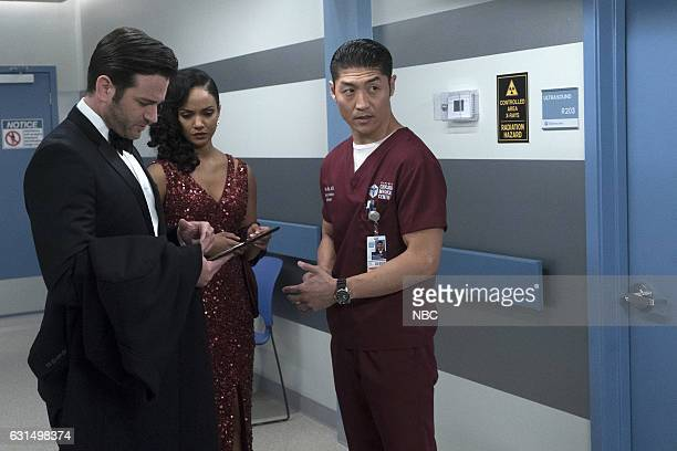 MED Graveyard Shift Episode 211 Pictured Colin Donnell as Connor Rhodes Mekia Cox as Robyn Charles Brian Tee as Ethan Choi