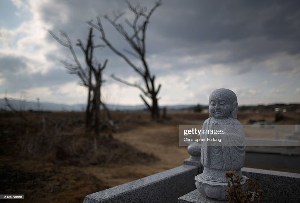 Homes And Businesses In Fukushima As Five Year Anniversary Of Devastating Tsunami Approaches : ニュース写真