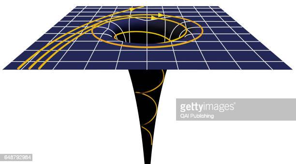 Gravitational force Contrary to popular belief ablack hole is not a ñcosmicvacuum cleanerî thatattracts and imprisonseverything within reach In fact...