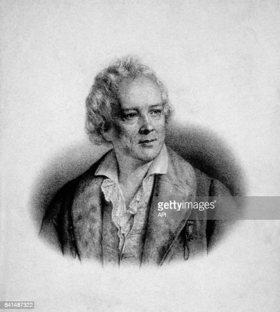 Gravure représentant le compositeur allemand Christoph Willibald Gluck