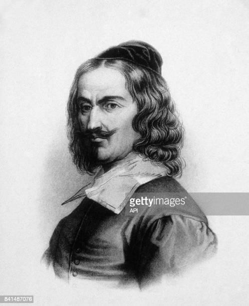 Gravure représentant le peintre espagnol Diego Vélasquez