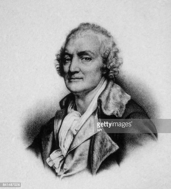 Gravure représentant le peintre et dessinateur français JeanBaptiste Greuze