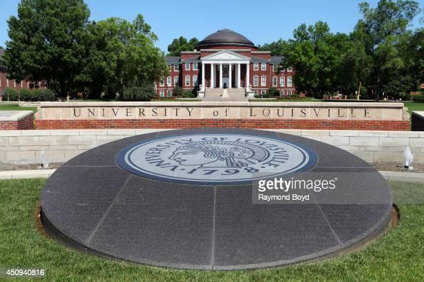 Grawemeyer Hall at the University of Louisville on May 31 2014 in Louisville Kentucky