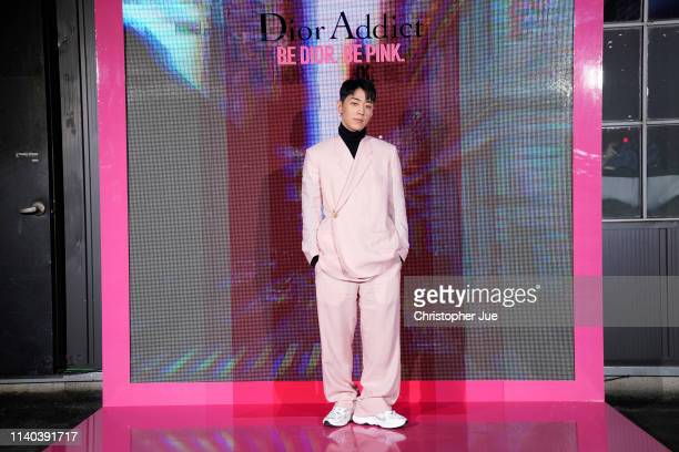 Gray attends Dior Addict Stellar Shine launch at Layers 57 on April 04 2019 in Seoul South Korea