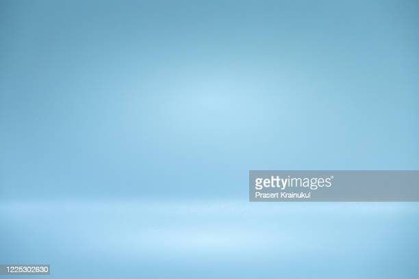 gray empty display table - blue stock pictures, royalty-free photos & images