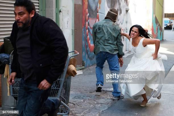 NINE Gray Star Mutual Episode 517 Pictured Melissa Fumero as Amy Santiago