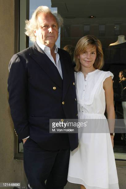 Graydon Carter and Anna Scott Carter during Book Party for Danny Seo's Simply Green Parties at Stella McCartney's Store in New York New York United...
