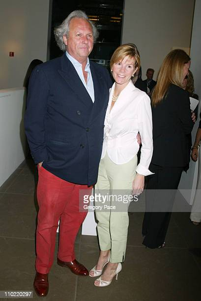 Graydon Carter and Anna Scott during Calvin Klein Inc and Bryan Adams Host the Launch of His New Photography Book American Women Inside the Party at...