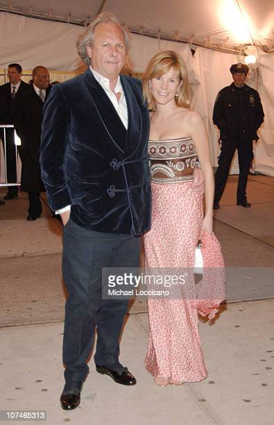 Graydon Carter and Anna Scott during 'Chanel' Costume Institute Gala Opening at the Metropolitan Museum of Art Departures at The Metropolitan Museum...