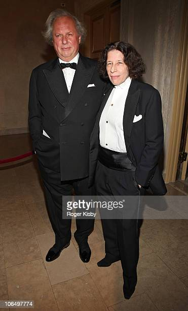 Graydon Carter and Fran Lebowitz attend the 2010 Living Landmarks Celebration at The Plaza Hotel on November 3 2010 in New York City