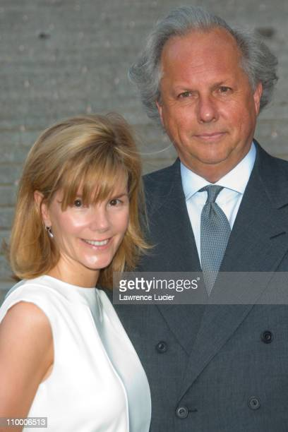 Graydon Carter and wife during Vanity Fair Hosts The Sixth Annual Tribeca Film Festival Opening Night Party April 24 2007 at New York State Supreme...