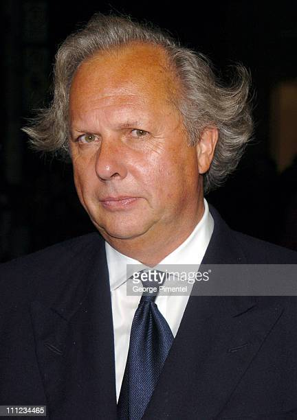 Graydon Carter at Holt Renfrew's VINYL Style in the Groove/Vanity Fair Gala