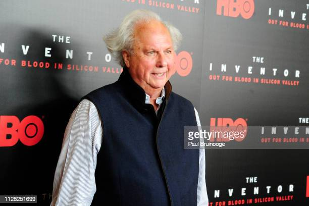 Graydon Carter attends HBO Hosts The Premiere Of The Inventor Out For Blood In Silicon Valley at Warner Media Screening Room on February 28 2019 in...