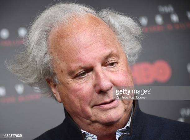 Graydon Carter attends HBO's The Inventor New York Premiere at Time Warner Center on February 28 2019 in New York City