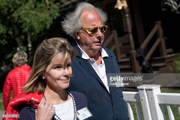 Graydon Carter editor of Vanity Fair attends the annual Allen Company Sun Valley Conference July 6 2016 in Sun Valley Idaho Every July some of the...