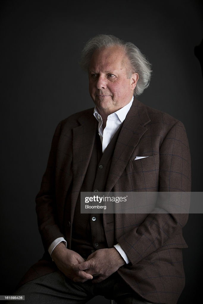 Graydon Carter, Vanity Fair's editor, stands for a photograph in New York, U.S., on Tuesday, Feb. 12, 2013. Carter, a Canadian-born American journalist, has served as the editor of Vanity Fair since 1992. Photographer: Scott Eells/Bloomberg via Getty Images