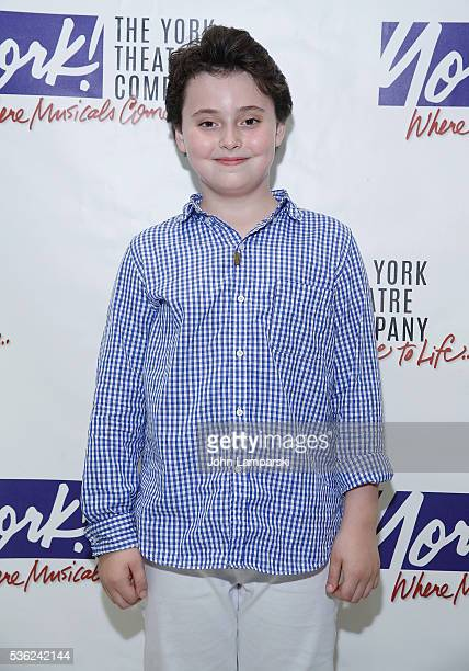 Graydon Peter Yosowitz attends 'You're A Good Man Charlie Brown' opening night after party at Dylan's Candy Bar on May 31 2016 in New York City
