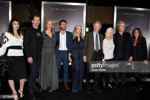 Graylen Eastwood, Stacy Poitras, Alison Eastwood, Scott Eastwood, Christina Sandera, Clint Eastwood, Maggie Johnson, Kyle Eastwood and Cynthia...