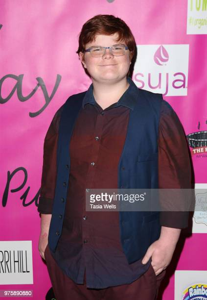 Grayson Kilpatrick attends Jillian Estell's red carpet birthday party with a purpose benefitting The Celiac Disease Foundation on June 15 2018 in Los...