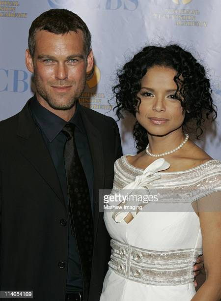 Grayson McCouch and Victoria Rowell during 32nd Annual Daytime Emmy Awards Press Room at Radio City Music Hall in New York City New York United States