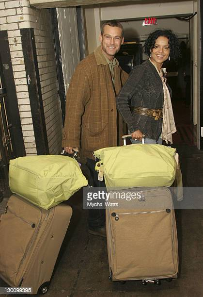 Grayson McCouch and Victoria Rowell during 32nd Annual Daytime Emmy Awards On 3 Productions Gift Suite Day 2 at Radio City Music Hall in New York New...