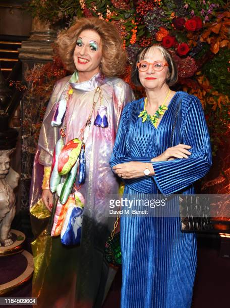 Grayson Perry and Philippa Perry attend the 65th Evening Standard Theatre Awards in association with Michael Kors at the London Coliseum on November...