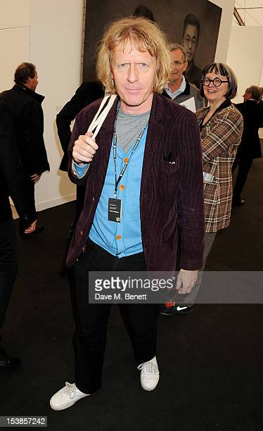 Grayson Perry attends a VIP Preview of the Frieze Art Fair in Regent's Park on October 10 2012 in London England