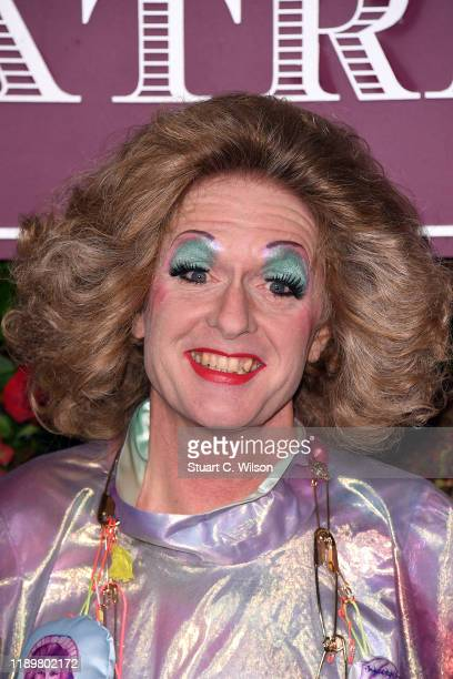 Grayson Perry attends the 65th Evening Standard Theatre Awards at London Coliseum on November 24 2019 in London England