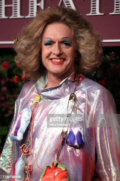 Grayson Perry attends the 65th Evening Standard Theatre Awards at the London Coliseum on November 24 2019 in London England